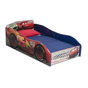 Delta Disney Cars Wooden Toddler Bed